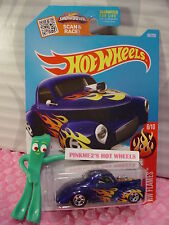Case B/C 2016 Hot Wheels '41 WILLYS coupe #96✰met Blue;5sp; orange/yellow Flames