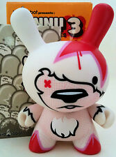"DUNNY 3"" SERIES 3 FLYING FORTRESS 1/50 CHASE KIDROBOT 2006 VINYL DESIGNER TOY"