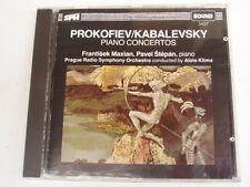 Kabalevsky Prokofiev Piano Concerto 3 - MUSIC CD