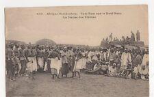 Africa, Senegal, Tam-Tam sur le Haut-Bany La Danse des Vieilles Postcard, B217