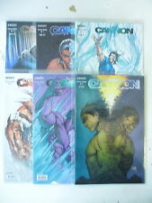 6 x Comic - Michael Turner's Fathom Cannon - Nr. 0 + 1-5 - image infinity - Z. 1