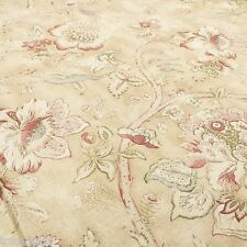 BRAEMORE DRAPERY/UPHOLSTERY  FLORAL PRINT FABRIC ODESSA/SUEDE BY THE YARD