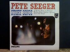 PETE SEEGER  Story Songs   LP   Lovely copy.