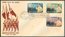 1962 Philippines INDEPENDENCE DAY First Day Cover