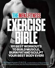 THE MEN'S FITNESS EXERCISE BIBLE (978 - MEN'S FITNESS SEAN HYSON (PAPERBACK) NEW