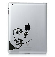 SALVADOR DALI Surrealist art Apple iPad Macbook Laptop Sticker Vinyl decal