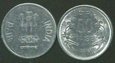 INDIA 50 PAISE 2013 COIN UNC