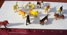 """48  2"""" SMALL  PLASTIC DOGS TOYS  CARNIVAL OR EDUCATIONAL TOYS. PARTY"""