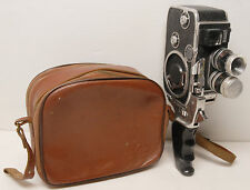 "CAMERA PAILLARD BOLEX "" B 8   ""  - 8 mm   - KERN .. F 13 mm et  5,5 ,mm"