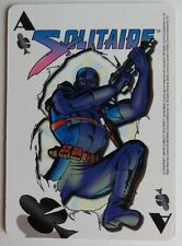1993 ULTRAVERSE SOLITAIRE ACE OF CLUBS TRADING CARD          (INV12659)