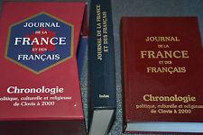 JOURNAL DE LA FRANCE ET DES FRANÇAIS - 2 vol. s. coffret (Gallimard Quarto 2001)