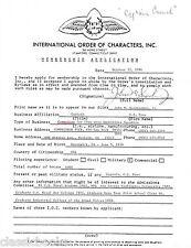 CAPTAIN JOHN M. QUARTERMAN   Signed Letter Document  Aviation WWII