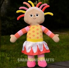 "IN THE NIGHT GARDEN CHARACTERS PLUSH STUFFED TOYS 17"" UPSY DAISY SOFT DOLL"