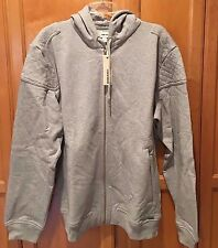 NEW W TAGS MENS DIESEL YAMA GRAY HOODIE HOODED SWEAT SHIRT SWEATSHIRT L $198