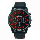 UK Mens Watch Stainless Steel Quartz Analog Luxury Sports Date Wrist Watches New