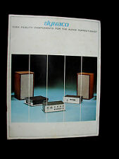 Vintage 60's Dynaco High Fidelity Components For The Audio Perfectionist  Book