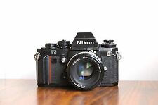 NIKON F3  Professional SLR  w/ Nikkor 50mm f/1.8 Lens * Good Condition * FM2, F2