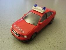 Rietze Audi A6 Feuerwehr nur Druck FW Haube aus Sammlungsauflösung Audi Sammlung