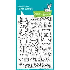 """Lawn Fawn Party Animal 4""""x6"""" Clear Stamps LF893"""