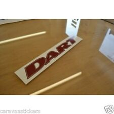 AVONDALE Dart Caravan Name Sticker Decal Graphic - (STYLE 3) - SINGLE