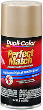 Dupli-Color BTY1596 Cashmere Beige Metallic Toyota  Auto Paint 8oz FREE SHIPPING