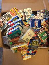 LOT OF 100 OLD VINTAGE SPORTS CARDS IN FACTORY SEALED PACKS Michael Jordan Card?