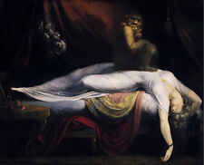 Free shipping Oil painting John Henry Fuseli The Nightmare with beasts canvas