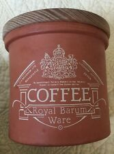 "Vintage Royal Barum Ware Litchdon Potteries Coffee Jar ""Rare"""