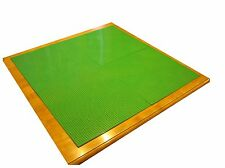 """LEGO Table Surface Kit - 30""""x30"""" - Set of 4 Compatible Green Building Baseplates"""