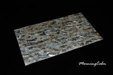 Green Abalone Coated Veneer Sheet (MOP Shell Overlay Inlay Papercraft Luthier)