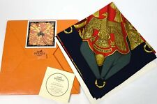 NIB New Authentic HERMES Soleil de Soie Twill Silk Wrap 90cm Shawl Scarf 35""