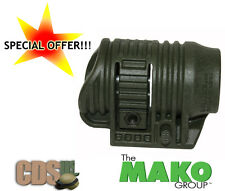 "MAKO FAB Tactical Flashlight Light  Picatinny Rail Mount Adapter PLA1"" OD-GREEN"