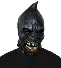 EXECUTIONER SKULL MASK SCARY LATEX FULL OVERHEAD MENS EVIL HALLOWEEN FANCY DRESS