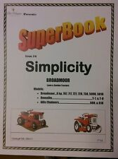 Simplicity Broadmoor Homelite Allis Lawn Garden Tractor Manual Service Parts