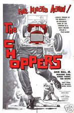 THE CHOPPERS.HOT ROD MOVIE. DVD.ROCK N ROLL