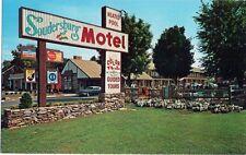 """Soudersburg Motel & Motor Lodge """"Lincoln Highway"""" LANCASTER PA Vintage Postcard"""