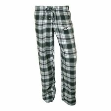 ($35) New York Jets nfl Crossroad Flannel Jersey Lounge Pants WOMENS/LADIES (L)