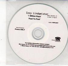 (DS615) Izzy Lindqwister, 1 Million Keys / Fool to Fool - DJ CD