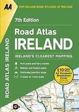 AA Road Atlas Ireland by AA Publishing (Paperback, 2016)
