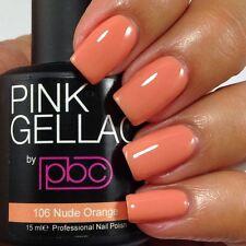 Pink Gellac Nude Orange 15ml Gel Nail Polish