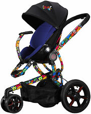Quinny Britto Moodd Stroller - Blue - Brand New! Free Ground Shipping!