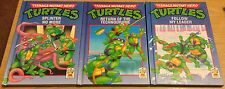 TEENAGE MUTANT HERO TURTLES Carnival Books (Collection Of 3) 1990