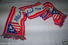ANCIENNE ET GRANDE ECHARPE FOOT BALL CLUB ATLETICO DE MADRID