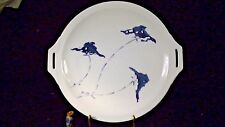 Thomas Bavaria, Handled Cake Plate, Hand Painted 11 1/4""
