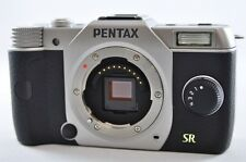[Exc⁺⁺] PENTAX Q7 12.4 MP Silver (Body only) Mirrorless Digital SLR Camera