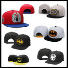 SNAPBACK BATMAN / SPIDERMAN / SUPERMAN HAT CAP One size Fits Most