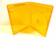 NEW! 1 SCANAVO Audiobook Single Disc Orange Blu-ray Case 11mm