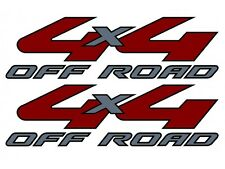 2008-2010 Vinylmark 4x4 Off Road Decals for Ford RANGER Super Duty SILVER