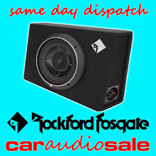 "ROCKFORD FOSGATE P3S-1X12 800W 12"" SLIM SHALLOW LOADED ENCLOSURE SUBWOOFER BOX"