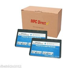 2 Pack MPC Direct T5846 Non-OEM  Photo Color  Ink Cartridge for PictureMate